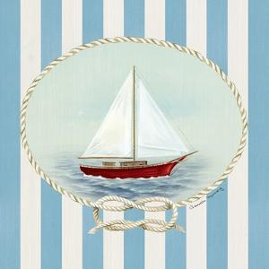 Nautical and Nice Sail Boat by Danielle Murray