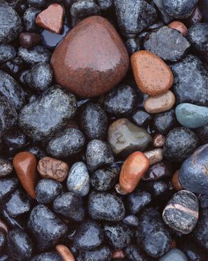 Beaver Bay Rocks I by Danny Burk
