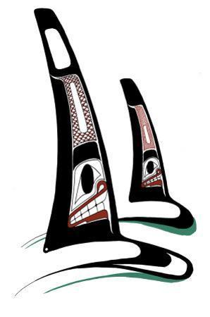 Orcas by Danny Dennis