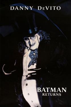 "DANNY DEVITO. ""BATMAN RETURNS"" [1992], directed by TIM BURTON."