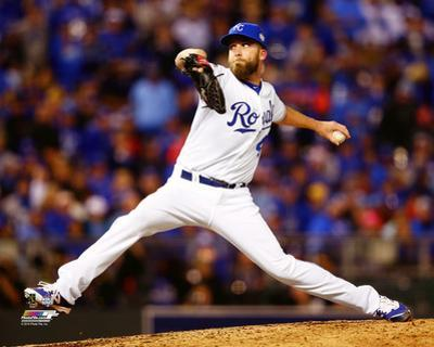 Danny Duffy Game 1 of the 2015 World Series