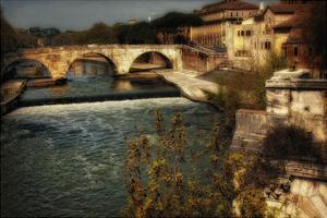 Ponte Cestio by Danny Head