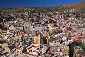 Aerial View of Guanajuato by Danny Lehman