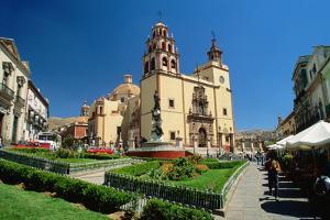 Baroque Basilica of Nuestra Senora De Guanajuato by Danny Lehman