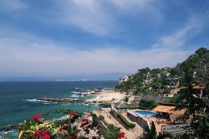 Beach Resort in Puerto Vallarta by Danny Lehman