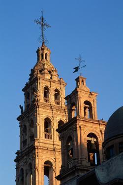 Bell Towers of San Sebastian Church by Danny Lehman