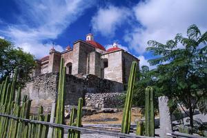 Church of Mitla, Mexico by Danny Lehman
