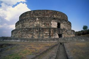 Exterior of Temple of Quetzalcoatl by Danny Lehman