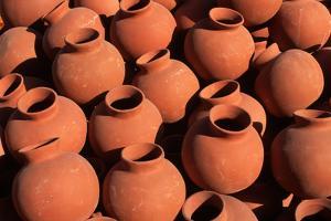Local Terra-Cotta Vases by Danny Lehman