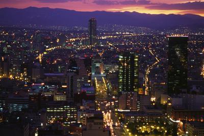 Mexico City at Twilight