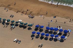Overhead View of Acapulco Beach by Danny Lehman
