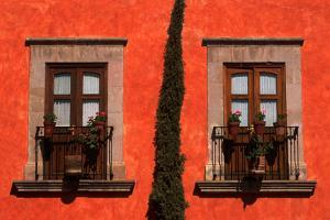 Two Balconies with French Doors by Danny Lehman