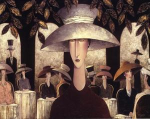 Lady in a Cafe by Danny McBride