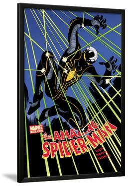 The Amazing Spider-Man No.656 Cover: Spider-Man Jumping at Night by Danny Miki