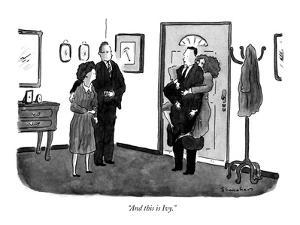 """""""And this is Ivy."""" - New Yorker Cartoon by Danny Shanahan"""