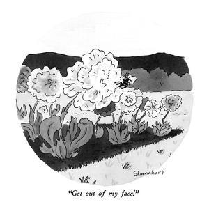"""Get out of my face!"" - New Yorker Cartoon by Danny Shanahan"