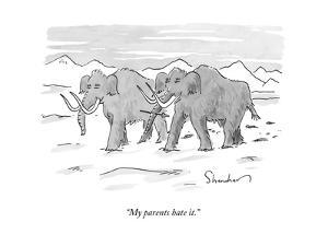 """""""My parents hate it."""" - New Yorker Cartoon by Danny Shanahan"""