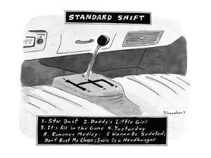Standard Shift - New Yorker Cartoon by Danny Shanahan