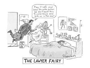 """The Lawyer Fairy"" - New Yorker Cartoon by Danny Shanahan"