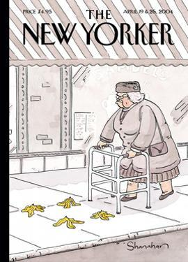 The New Yorker Cover - April 19, 2004 by Danny Shanahan