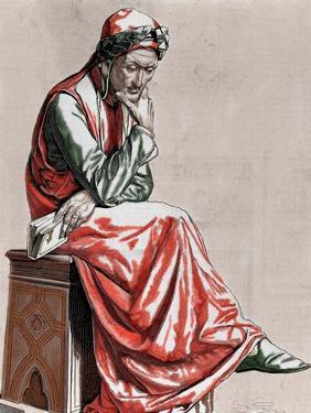 Dante Alighieri (1265-1321). Italian Poet