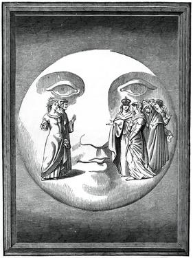 Dante and Beatrice Transported to the Moon, 16th Century