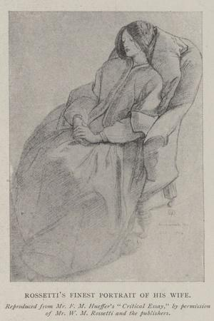 Rossetti's Finest Portrait of His Wife