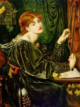 Veronica Veronese, 1872 by Dante Gabriel Charles Rossetti
