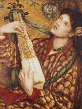 A Christmas Carol by Dante Gabriel Rossetti