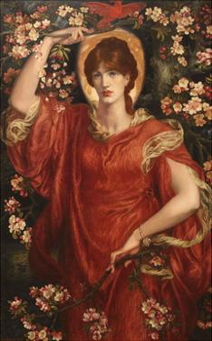 A Vision of Fiammetta, 1878 by Dante Gabriel Rossetti