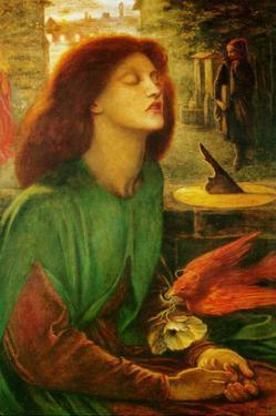 Blessed Beatrice (Beatrix) by Dante Gabriel Rossetti