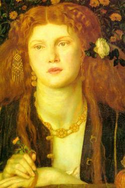 Bocca Baciata; the Kissed Mouth by Dante Gabriel Rossetti