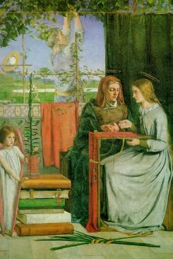 Childhood of the Virgin Mary by Dante Gabriel Rossetti