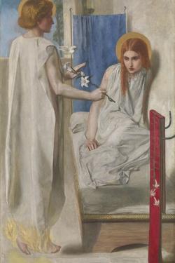 Ecce Ancilla Domini! (The Annunciation) by Dante Gabriel Rossetti