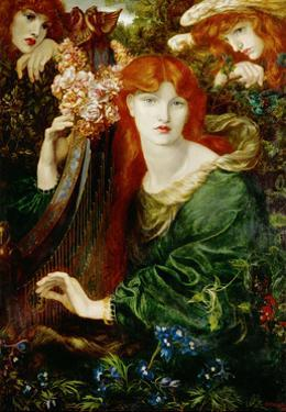La Ghirlandata (1873). by Dante Gabriel Rossetti