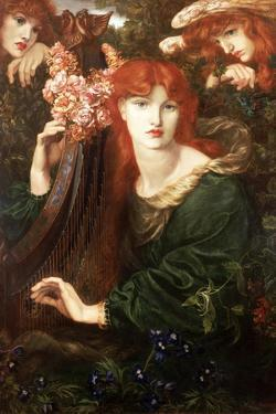 La Ghirlandata, 1873 by Dante Gabriel Rossetti