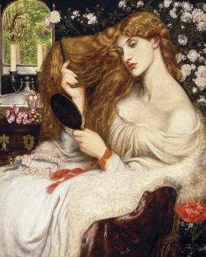 Lady Lilith, 1868 by Dante Gabriel Rossetti