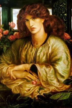Lady of the Window; La Donna Della Finestra by Dante Gabriel Rossetti