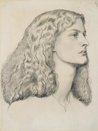 Portrait of Annie Miller, C.1860 by Dante Gabriel Rossetti