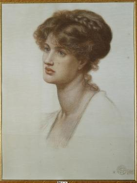 Portrait of Mrs. William J. Stillman, Bust Length, 1869 by Dante Gabriel Rossetti