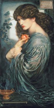 Proserpine, 1877 by Dante Gabriel Rossetti