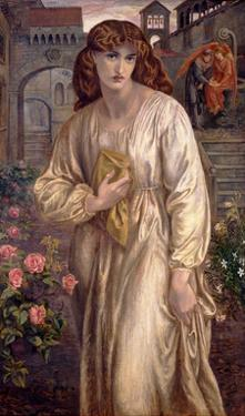 Salutation of Beatrice, 1880-82 by Dante Gabriel Rossetti