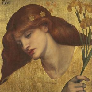 Sancta Lilias by Dante Gabriel Rossetti