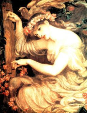 Sea Spell by Dante Gabriel Rossetti