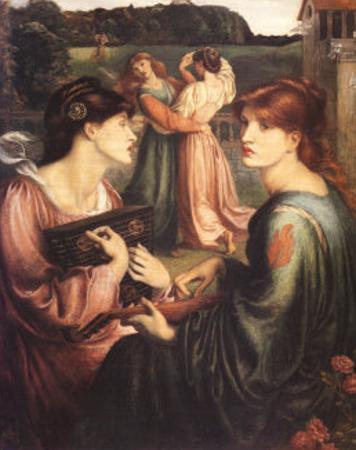 The Bower Meadow by Dante Gabriel Rossetti