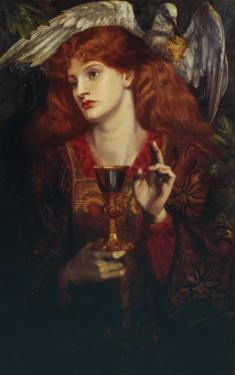 The Damsel of the Sanct Grail, 1874 by Dante Gabriel Rossetti