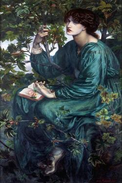 The Day Dream by Dante Gabriel Rossetti by Dante Gabriel Rossetti