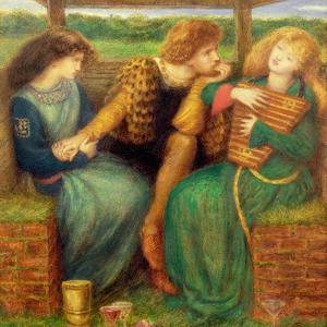 The Merciless Lady by Dante Gabriel Rossetti
