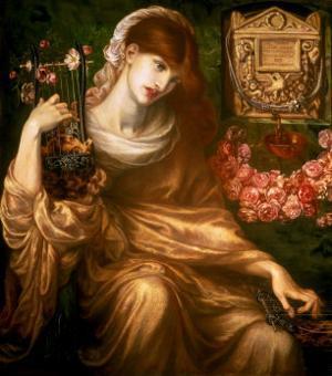 The Roman Widow, 1874 by Dante Gabriel Rossetti