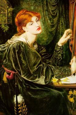 Veronica Veronese by Dante Gabriel Rossetti